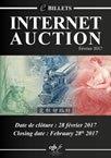 Internet Auction Billets Février 2017