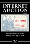 Internet Auction Billets Mai 2019